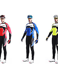 MYSENLAN Bike/Cycling Clothing Sets/Suits Men's Long Sleeve Breathable / Quick Dry / Wearable / Windproof / Thermal / WarmCotton / 100%
