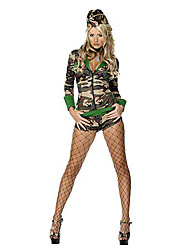 Hot Girl Camouflage Polyester Army Uniform