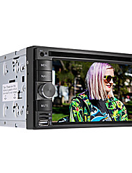 "6.2 ""ecrã LCD touch 2 din carro dvd player in-dash com bluetooth, gps, ipod, jogos, rádio estéreo, atv"