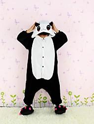 NEWCOSPLAY Red Eye Panda flanela versão WC Crianças Kigurumi Pajama