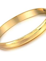 presente de casamento bela noiva merece atuar o papel de 18 k pulseira de ouro é conciso e suave