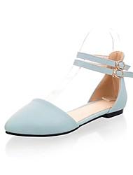 женские плоским пятки Мэри Джейн ботинок квартир (больше цветов)