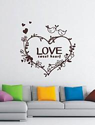 Toujours l'amour fleur de la vie Décoration Stickers muraux