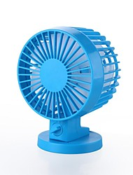 Double Leaf  Two Motor Mini USB Fan  with The Latest Silent Technology Random Color