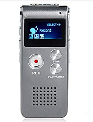 8G MP3 Digital Voice Recorder (Silber)
