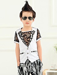 Collar Tailor Animal Print Camisa de Boy