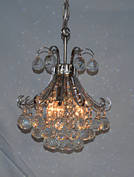 Modern 3 - Light Chandeliers with Crystal Drops