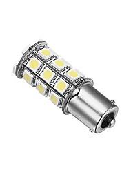 1156 Carro Branco 5W SMD 5050 6000-6500 Luz Instrumento Luz de Marcador Lateral Luz de Sinal de Direcção Luz de Travão Luz de marcha atrás