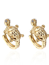 BIN BIN Women's 18K Gold Zircon Earings ER0565