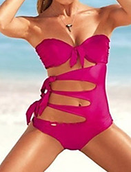 Mannisilin Women's Sexy Thicken One-Pieces