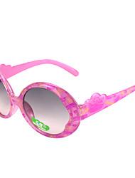100% UV 400 ronde gradiëntkleur zonnebril meisjes '(willekeurige kleur)