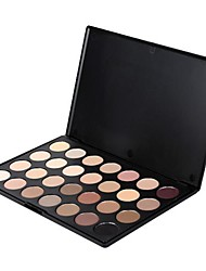 Professional 28 Colors Neutral Eyeshadow Eye Shadow Palette Makeup Box Cosmetics 19749