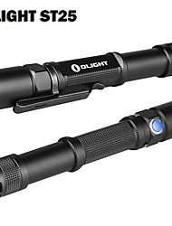 Lanterna Olight ™ ST25 Baton Variável Saída de comutação LED duplo 2 * AA 550 Lumens