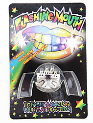 Novelty 2nd Generation Multi-color LED Flashing False Teeth Party Toys