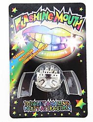 Nouveauté 2ème Génération Multi-couleur LED clignotant fausses dents Parti Jouets