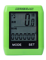 MYSENLAN Bike Computer,Shockproof Wireless Stopwatch With Countdown Timer Function