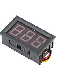 Mini Digital Voltmeter 0-100V Green LED Vehicles Motor Voltage Panel Meter