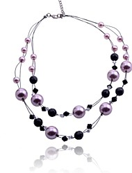 Lureme®Pearl and Beads Necklace