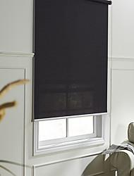 Moderne Fancy schwarz transluzent Solid Roller Shade