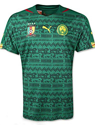 Men's SoccerJersey Short Sleeves Green