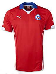 Men's SoccerJersey Short Sleeves Red