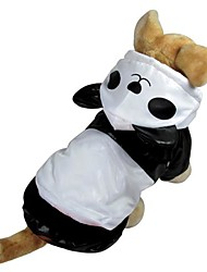 Cat / Dog Costume / Hoodie / Rain Coat White Dog Clothes Winter / Spring/Fall Animal Cute / Cosplay / Waterproof
