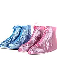 De las mujeres del PVC a prueba de lluvia Zapatos Covers (más colores)