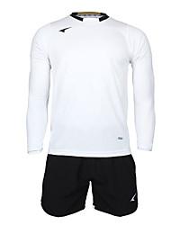 мужские футбольные длинный рукав костюмы (белый и черный / Германия)