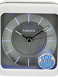 Timess ™ Estilo de la manera europea REPOSO Music Mute Alarm Clock