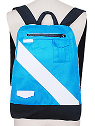 Bolsa Inspirado por Fantasias Makoto Tachibana Anime Acessórios de Cosplay Bolsa / mochila Azul Poliéster Masculino