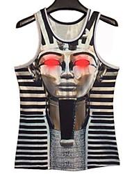 Pharaon Print Homme 3D I-forme Vest