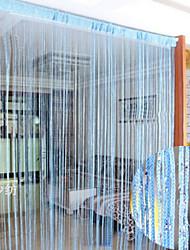 """(39 """"W * 78"""" L) País clássico Sólidos Linha Curtain - 3 cores disponíveis"""