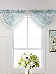 "(One Piece) Graceful Cyan massif Cascade Valance - 31W x 25 ""L"