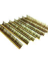 10 Eyelashes lash Eyelash Volumized Microfiber