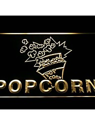 Popcorn Display Neon Light Sign
