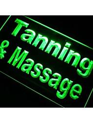 M097 Tanning & Massage luz de neón