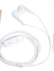 OMASEN OM-88 Moda In-Ear Fones de ouvido com microfone (3,5 mm / 125 centímetros)