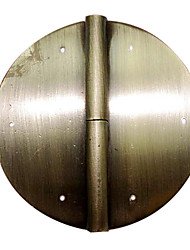 100 milímetros × 100 milímetros Retro Chinese Antique Bronze puro cobre Dobradiça