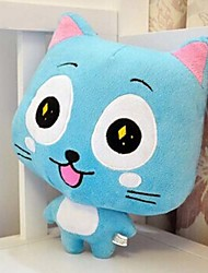 Stuffed ToyInspired by Fairy Tail Happy Blue-furred Cat-like