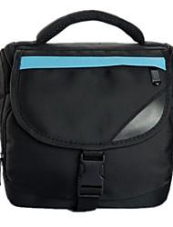 Nylon Compact System Hybrid DSLR Kamera Tasche für Canon Nikon (Storage 1 Body mit 1-2 Objektiv, 18-55 18-135 18-105 Objektiv)