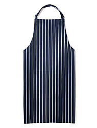 Restaurant Uniforms No Pocket Adjustable Knee-length Bib Apron