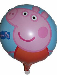 Forniture 10pcs/lot Peppa Pig Balloon partito