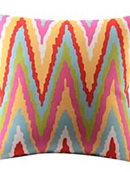 Moderne Élevé Gain coton / lin coussin décoratif couverture