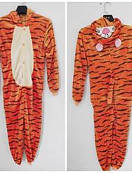 Непослушный Прыжки Тигра фланели Дети Kigurumi пижамы