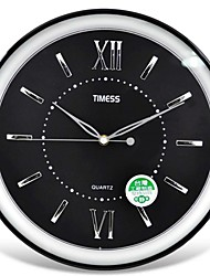 "Timess™ 9""H   Roman Raisde Scale Mute Wall Clock"