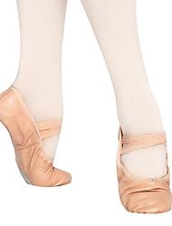 platte hak balletschoenen leer kid's (meer kleuren)