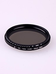 49mm Slim Fader Variable ND Filter Adjustable ND2 to ND400 Neutral Density