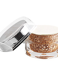 15ml Champagne Glitter Lantejoulas Cor UV Gel