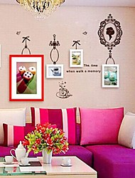 Photo Frame Collection Set of 5 with Wall Sticker 05