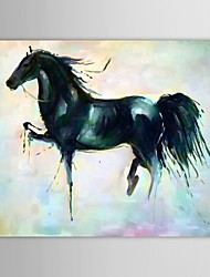 IARTS®Oil Painting Animal Horse for Horse Year with Stretched Frame  Hand-Painted Canvas